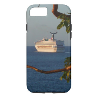 Sail Away at Sunset I Cruise Vacation Photography iPhone 8/7 Case