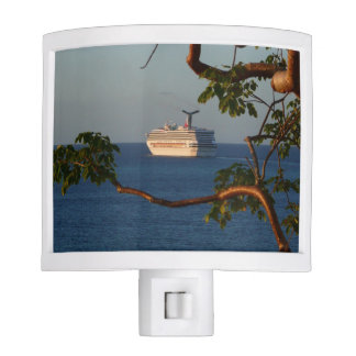 Sail Away at Sunset I Cruise Vacation Photography Night Light
