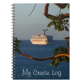 Sail Away at Sunset I Cruise Vacation Photography Notebook