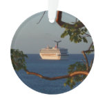 Sail Away at Sunset I Cruise Vacation Photography Ornament