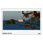 Sail Away at Sunset I Cruise Vacation Photography Wall Sticker