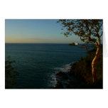 Sail Away at Sunset II Tropical Seascape Card