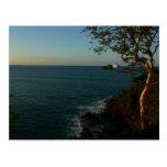 Sail Away at Sunset II Tropical Seascape Postcard
