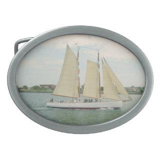 Sail Away Belt Buckle
