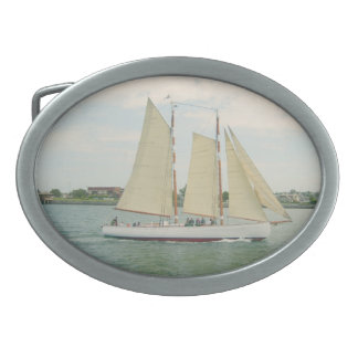 Sail Away Belt Buckle