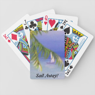 Sail Away! Bicycle Playing Cards
