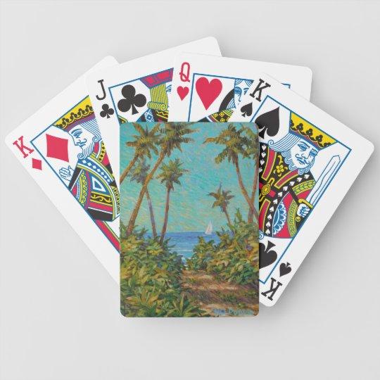 Sail Away Bicycle Playing Cards