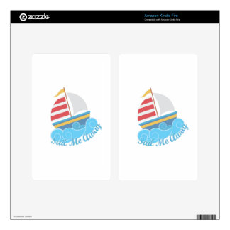 Sail Away Decal For Kindle Fire