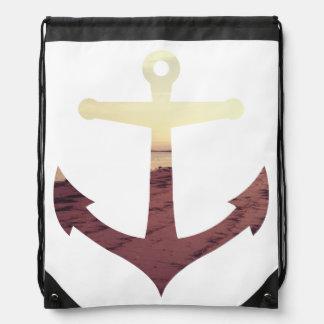 Sail Away Drawstring Backpack