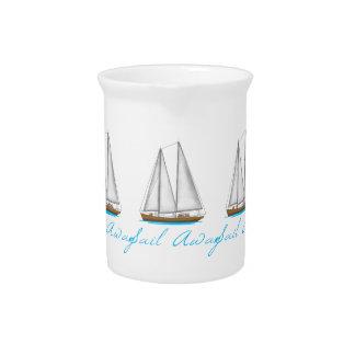 Sail Away Drink Pitcher