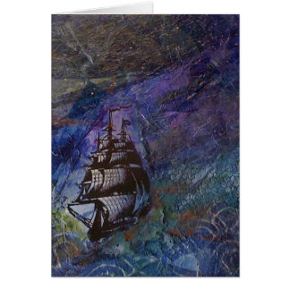 Sail away from the safe harbor Card