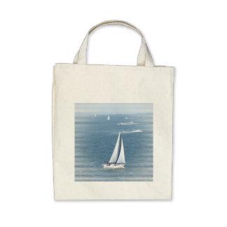 Sail Away Grocery Tote Tote Bags