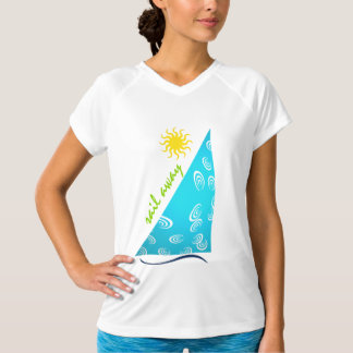 sail away in turquoise... T-Shirt
