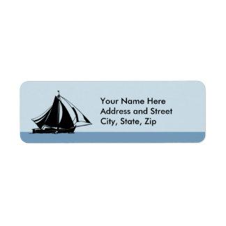 Sail away label