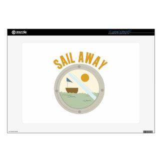 Sail Away Laptop Decals