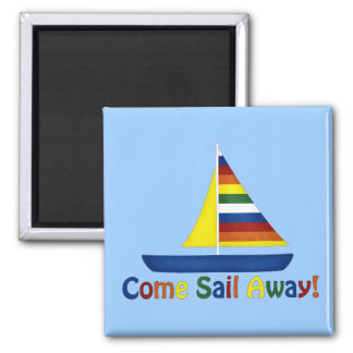 Sail Away Magnet