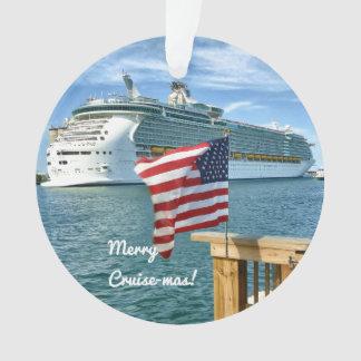 Sail-Away Merry Cruisemas Ornament