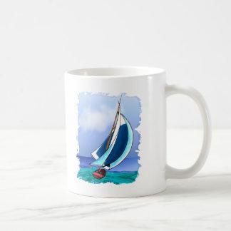 Sail Away Classic White Coffee Mug