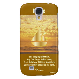 Sail Away My Little Boat iPad Case3-Cust. Galaxy S4 Cases