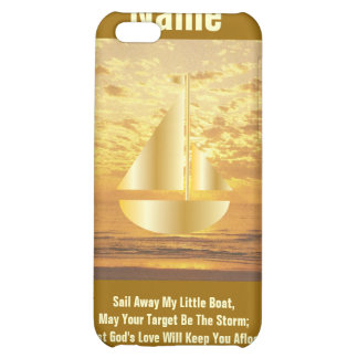 Sail Away My Little Boat iPad Case4-Cust. Case For iPhone 5C