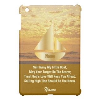 Sail Away My Little Boat iPad Case 1-Customize