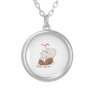 Sail Away Personalized Necklace