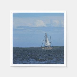 Sail Away Painterly Paper Napkin