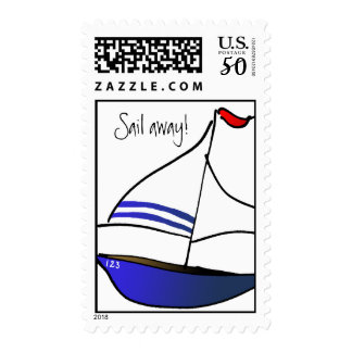 Sail Away! Postage