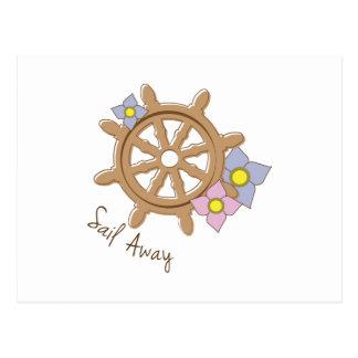 Sail Away Post Card