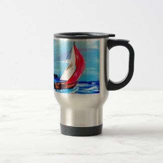 Sail Away, Sail Away ..... Travel Mug