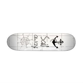 Sail away skateboard deck