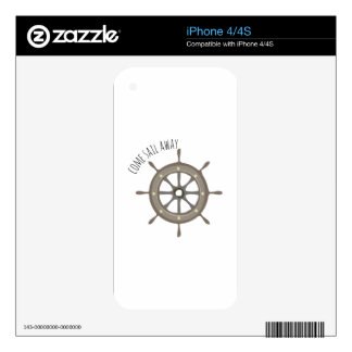Sail Away Skin For The iPhone 4S