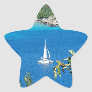 Sail Away Star Sticker
