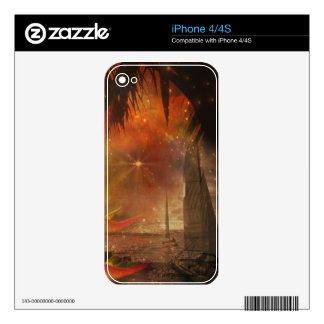 Sail Away to Costa Rica Skin For iPhone 4