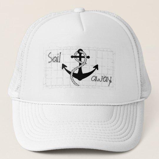 Sail away trucker hat