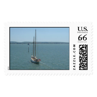 Sail away with me postage stamps