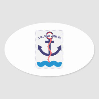 Sail Away WIth Me Stickers