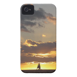 Sail boat at sunset blackberry bold cases