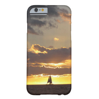 Sail boat at sunset barely there iPhone 6 case