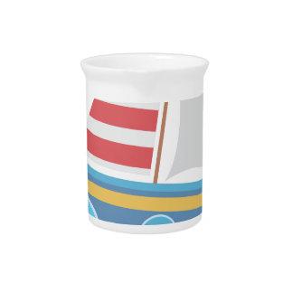 Sail Boat Beverage Pitcher