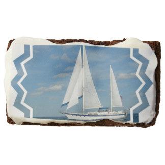 Sail Boat Brownie