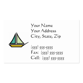 Sail Boat Business Cards