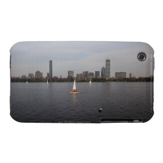 Sail Boat, Charles River, Boston, MA iPhone 3 Case-Mate Case