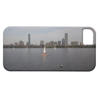 Sail Boat, Charles River, Boston, MA iPhone 5 Cover