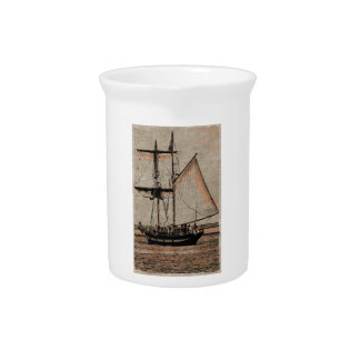 Sail-boat Drink Pitcher