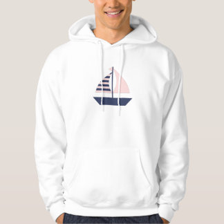 Sail Boat Hooded Pullover