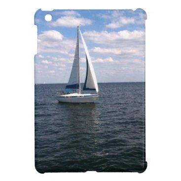 Beach Themed Sail Boat iPad Mini Covers