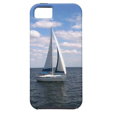 Beach Themed Sail Boat iPhone SE/5/5s Case