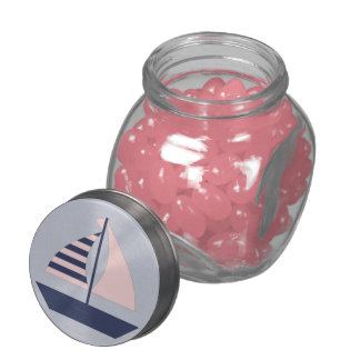 Sail Boat Jelly Belly Candy Jar