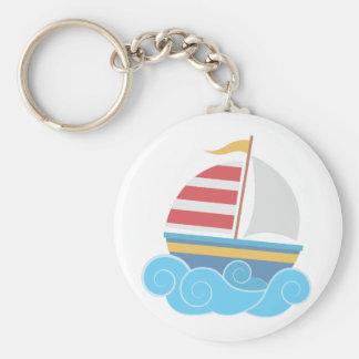 Sail Boat Keychain